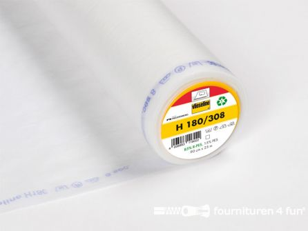 Rol 25 meter x 90cm Vlieseline® Softline H180 wit