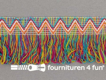 Ibiza franje 45mm multicolor