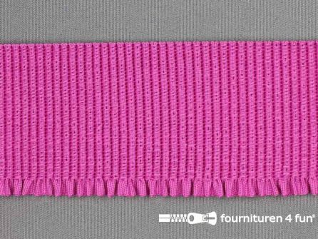 Boordelastiek 60mm fuchsia roze