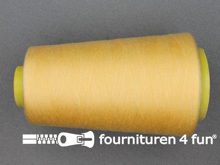 100% polyester Lockgaren 40/2 pastel geel