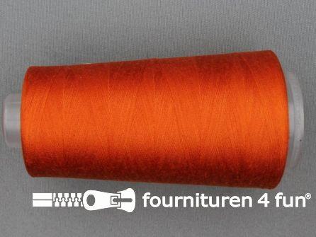 100% polyester Lockgaren 40/2 oranje