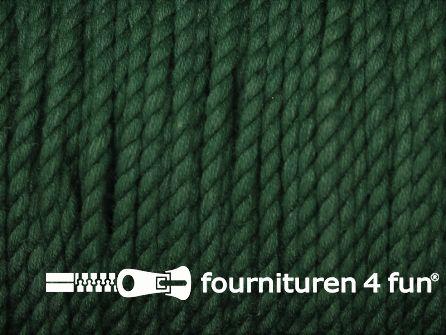 Katoen polyester koord 2,5mm flessen groen