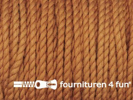 Katoen polyester koord 2,5mm brique oranje