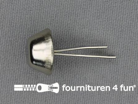 Bodemnagels 14mm zilver 10 stuks