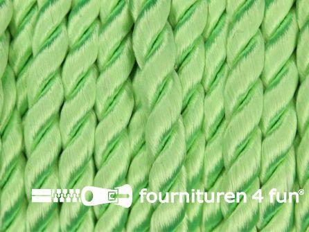Viscose meubel koord 6mm neon groen