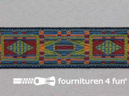 Indianenband 26mm multicolor