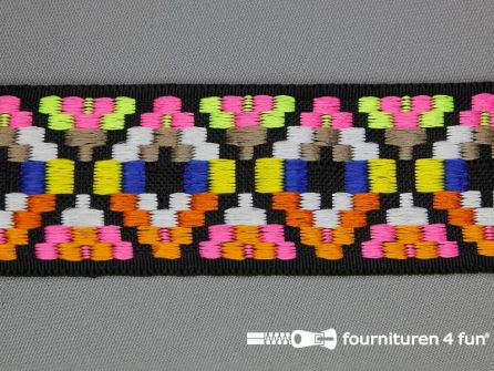 Indianenband 38mm multicolor