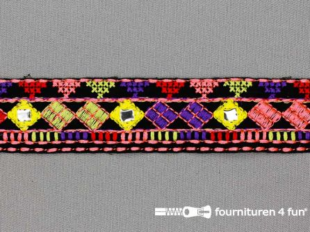 Jacquard band 30mm multicolor