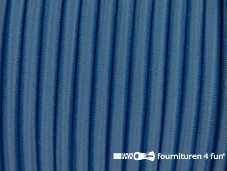 Elastisch koord 4,5mm jeans blauw