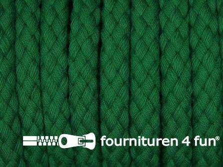 Katoenen koord grof 8mm gras groen