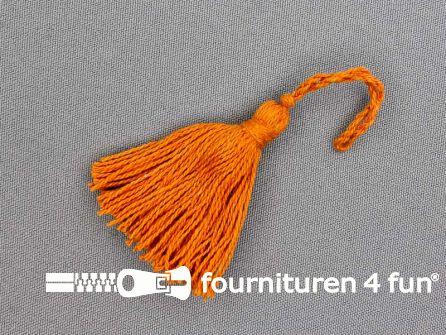 Kwastje 50mm oranje