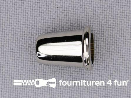 Kunststof koord uiteinde 11x14mm chroom