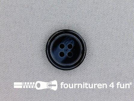 Blazer knoop 18mm donkerblauw