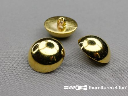 Gouden bolvormige knoop 25mm