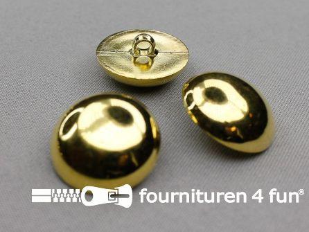 Gouden bolvormige knoop 28mm