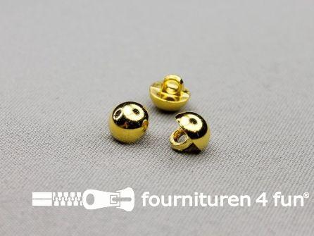 Gouden bolvormige knoop 10mm