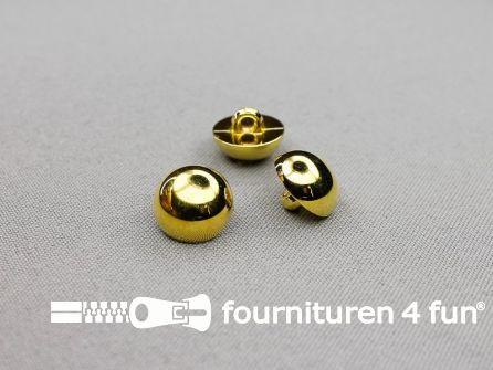 Gouden bolvormige knoop 15mm