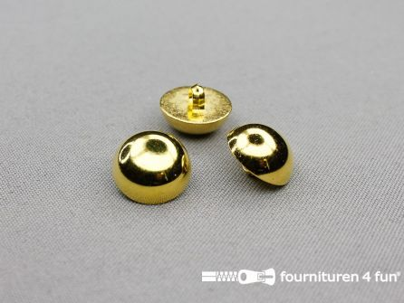 Gouden bolvormige knoop 18mm