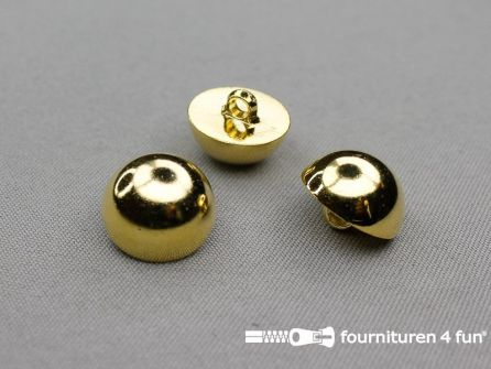 Gouden bolvormige knoop 20mm
