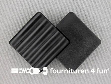 Inhaakgesp 25mm kunststof zwart