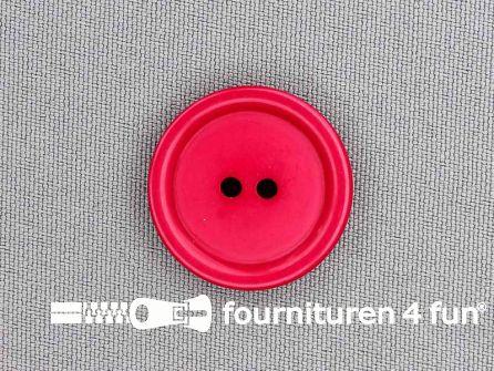 Kunststof knoop 25mm fuchsia