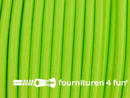 Elastisch koord 4,5mm lime groen