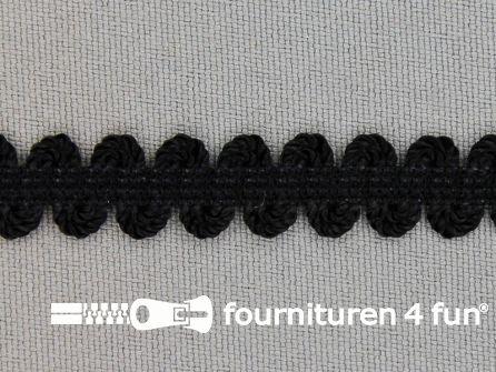 Lingerie elastiek 11mm zwart