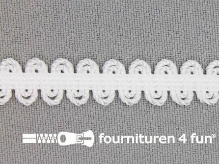 Lingerie elastiek 11mm wit-offwhite