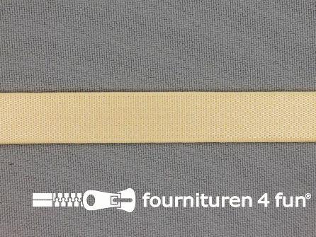 Lingerie elastiek 12mm ecru - beige