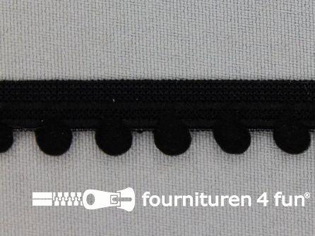 Lingerie elastiek 12mm zwart