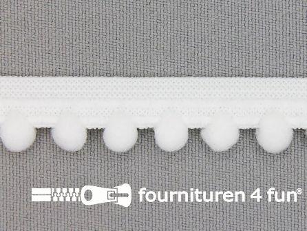 Lingerie elastiek 12mm wit