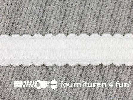 Lingerie elastiek 14mm wit