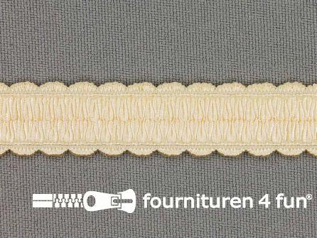 Lingerie elastiek 14mm ecru - beige