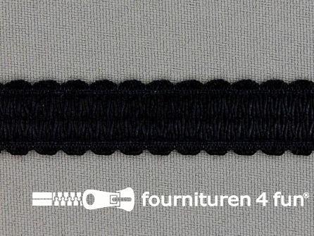 Lingerie elastiek 14mm zwart
