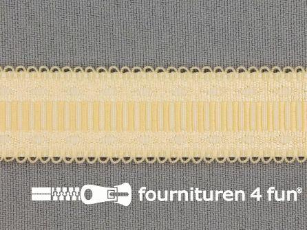 Lingerie elastiek 20mm ecru - beige