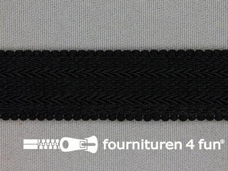 Lingerie elastiek 20mm zwart