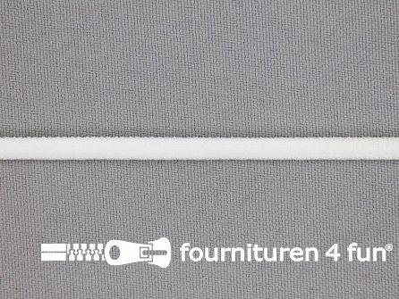 Lingerie elastiek - spaghetti band - 5mm off white
