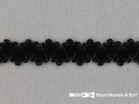 Lingerie elastiek 9mm zwart