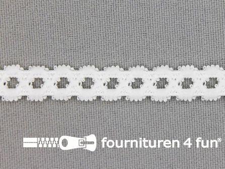Lingerie elastiek 9mm wit