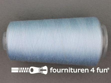 100% polyester Lockgaren 40/2 baby blauw