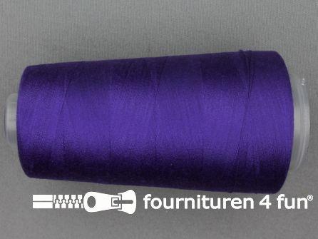 100% polyester Lockgaren 40/2 paars