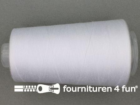 100% polyester Lockgaren 40/2 wit