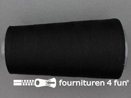 100% polyester Lockgaren 40/2 zwart
