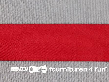 COUPON 13 meter Keperband 30mm rood