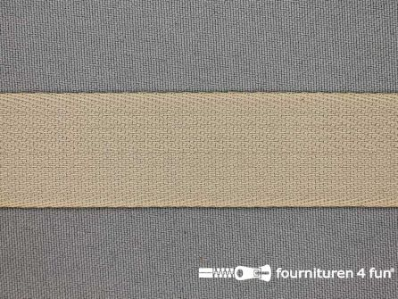 Luxe keperband 25mm beige
