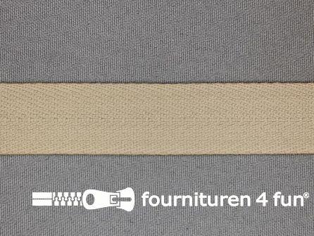 Luxe keperband 20mm beige