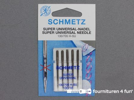 Schmetz machine naalden - super universal - anti plak - 100