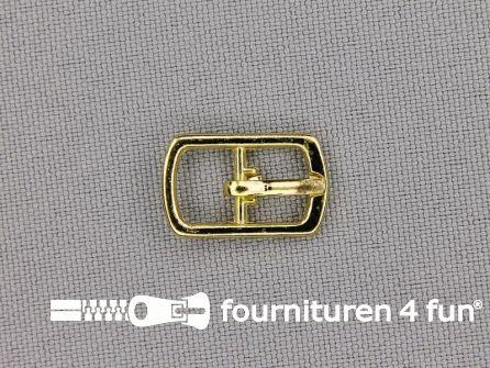 Metalen gesp 8mm goud