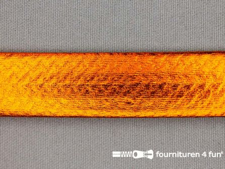 Rol 20 meter metallic biasband 20mm koper