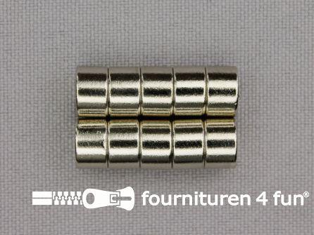 Naadtoeslag magneetjes Ø 8mm per 10 stuks